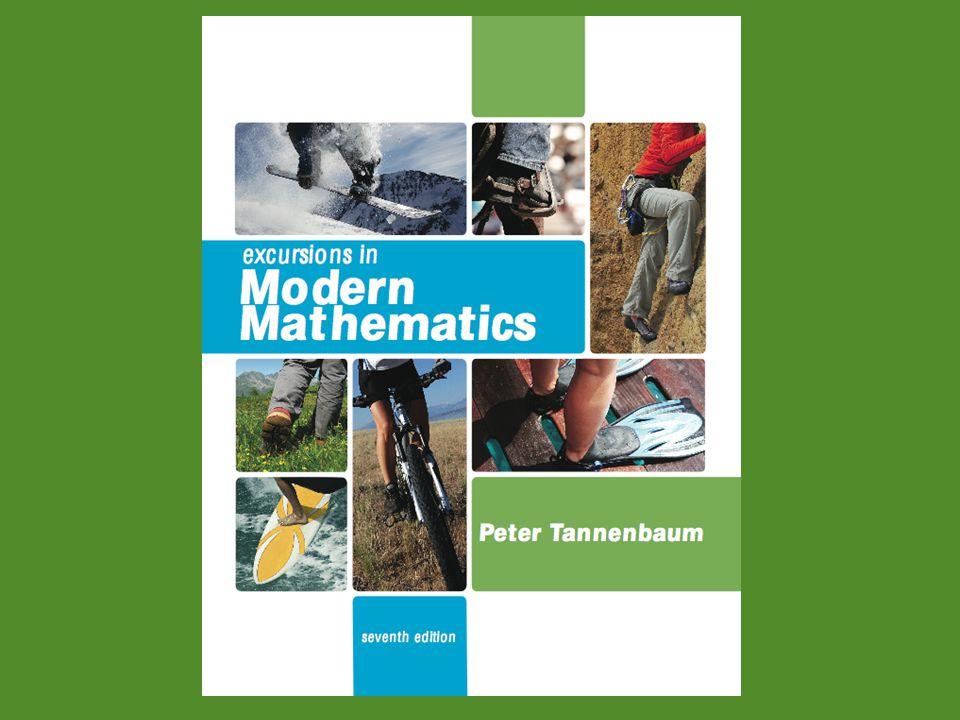 Excursions in Modern Mathematics, 7e: 1.3 - 12Copyright © 2010 Pearson Education, Inc.
