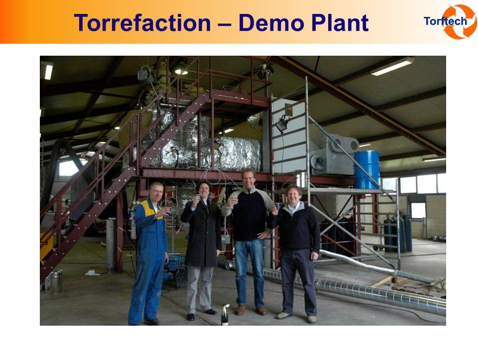 Torrefaction – Demo Plant