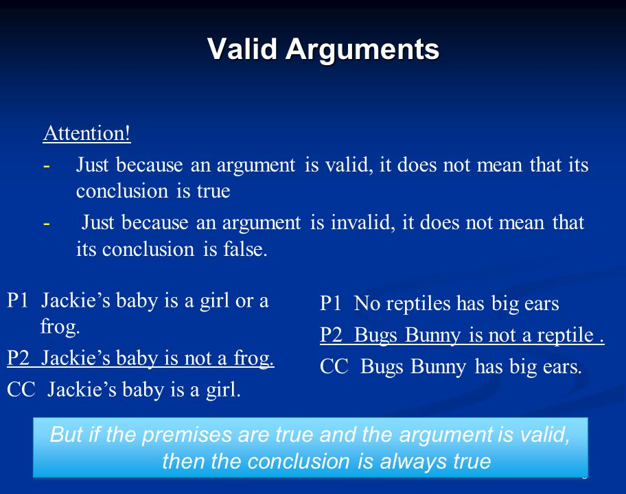17 Circular Arguments Circular arguments assume what they want to prove.