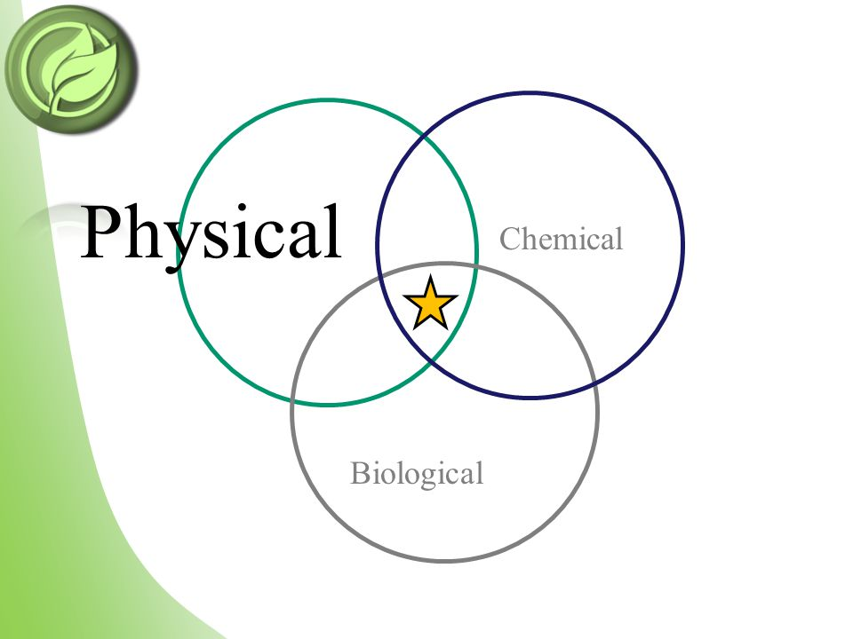 Physical Chemical Biological