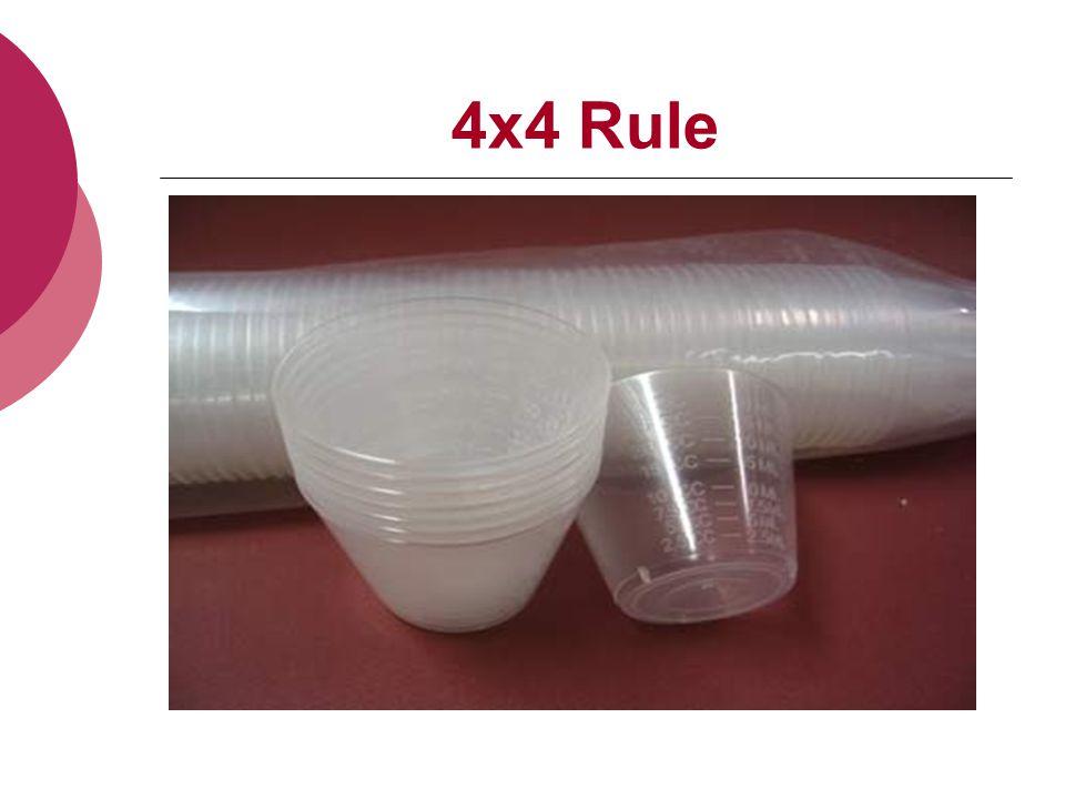 4x4 Rule