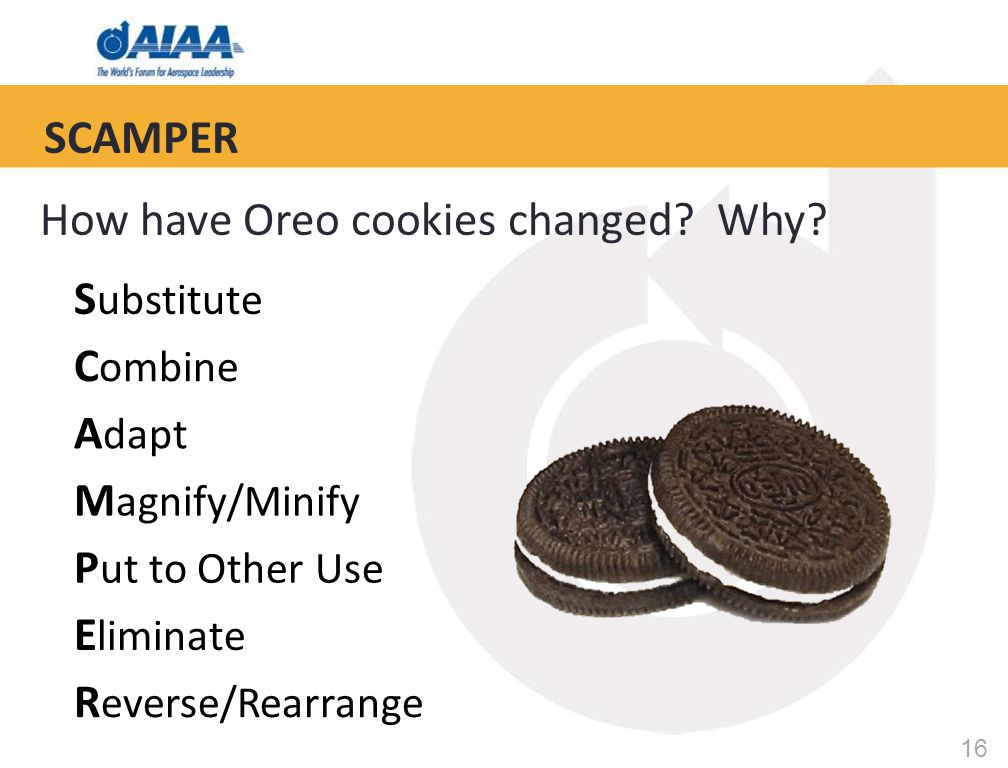16 How have Oreo cookies changed. Why.