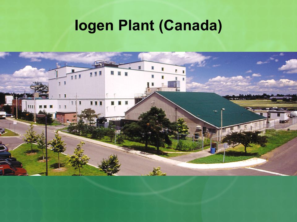 Abengoa Bioenergy Facility (Spain) Salamanca cellulosic biomass-to-ethanol plant
