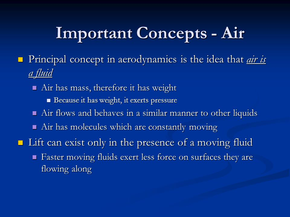 As an airplane moves forward, the airflow splits up into two separate flows Before We Begin… copyright 2006 Kevin Bailey