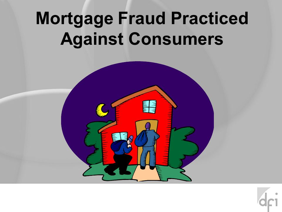 The words mortgage and fraud may be too narrow.