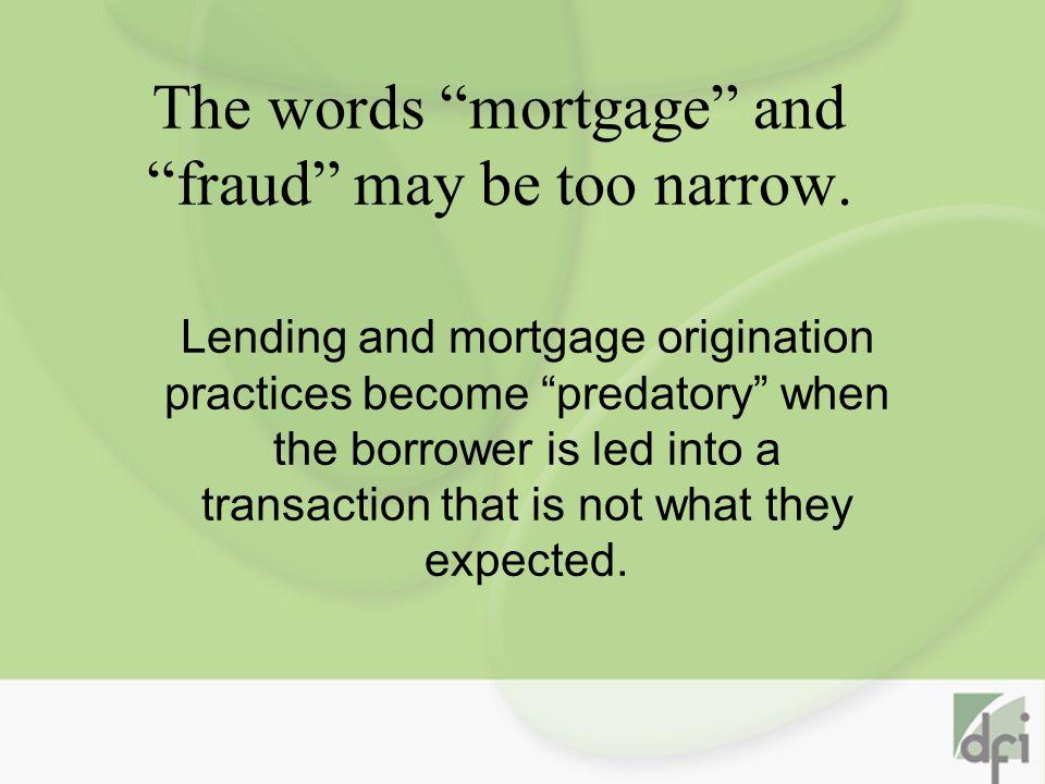 Mortgage Rescue Scam