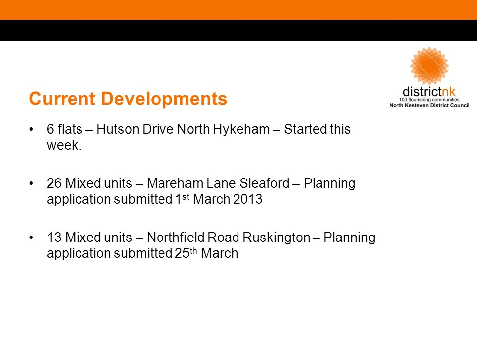 Current Developments 6 flats – Hutson Drive North Hykeham – Started this week.