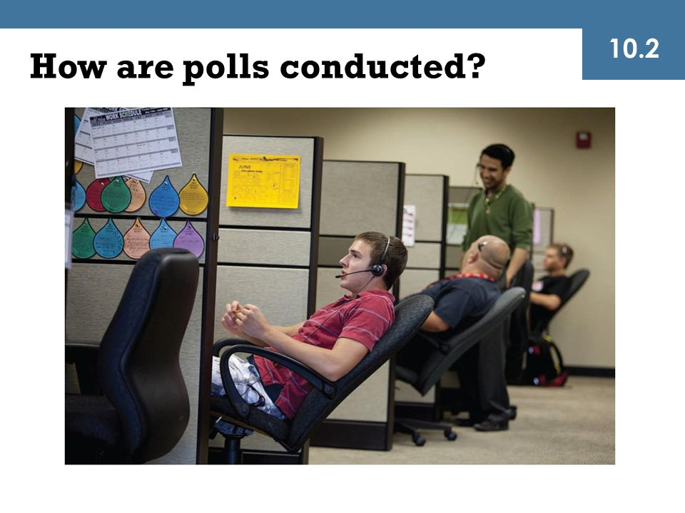How are polls conducted? 10.2