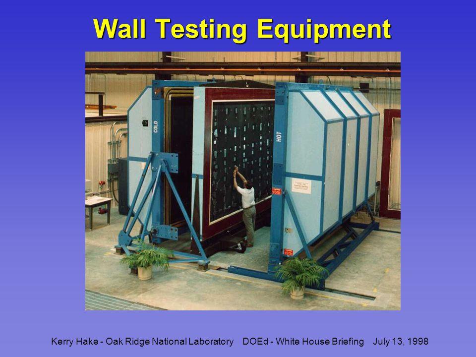Kerry Hake - Oak Ridge National Laboratory DOEd - White House Briefing July 13, 1998