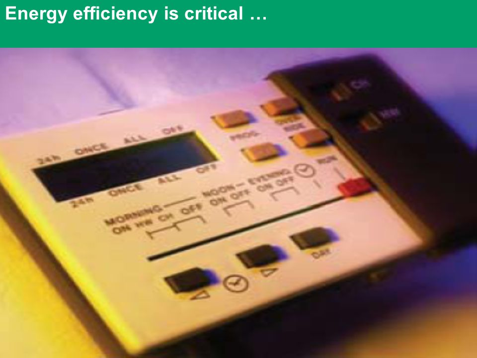 Duncan McLaren Slide 5 of Energy efficiency is critical …