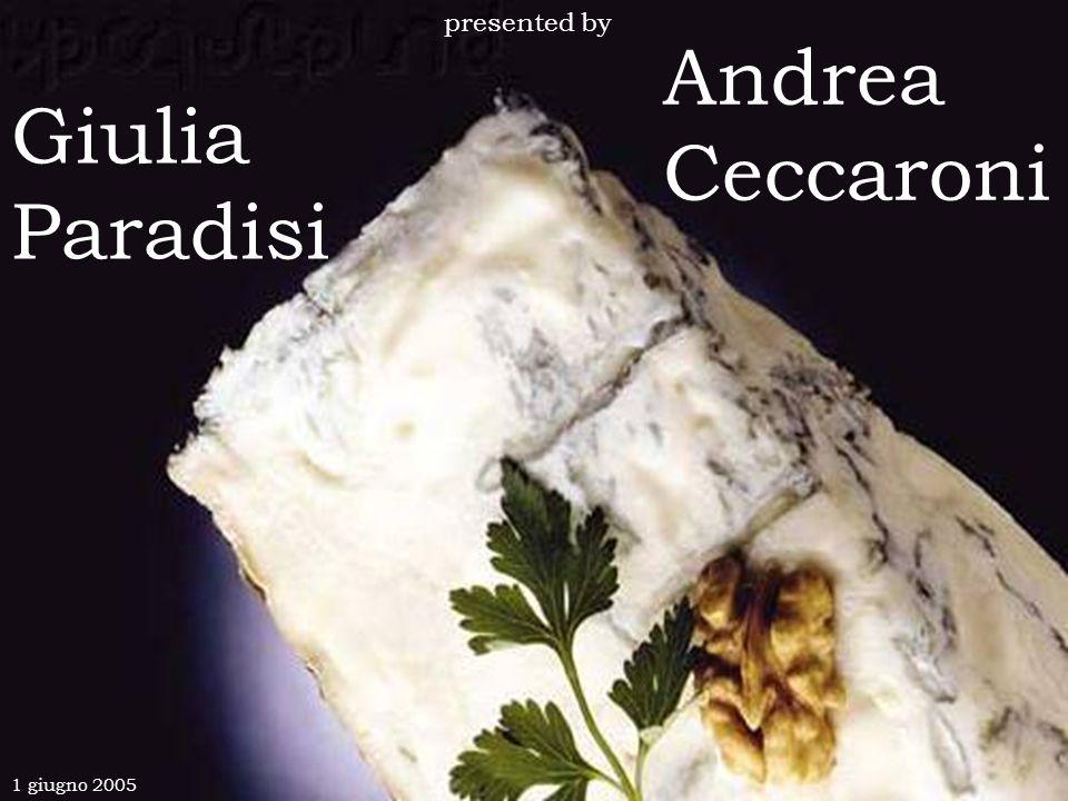 Andrea Ceccaroni Giulia Paradisi presented by 1 giugno 2005
