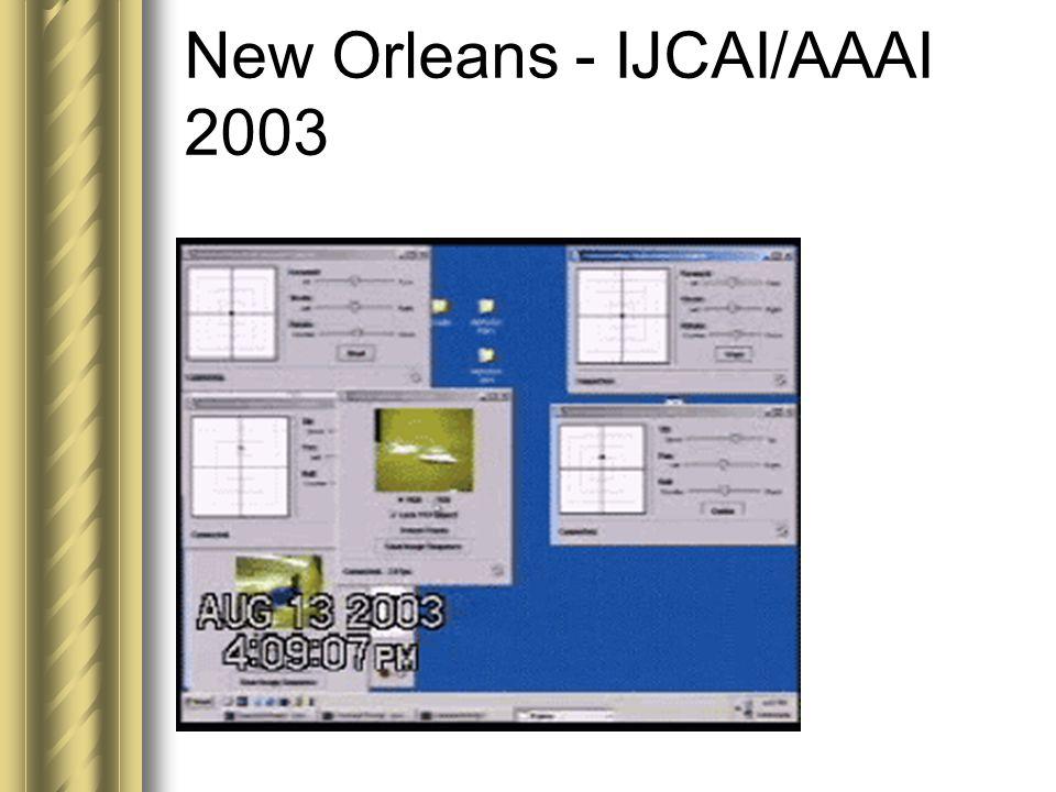 New Orleans - IJCAI/AAAI 2003