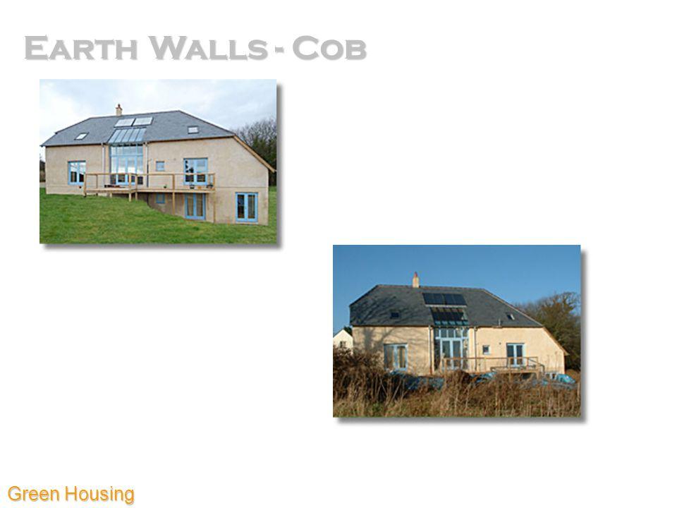 Earth Walls - Cob Green Housing