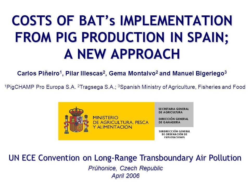 Results Spreading techniques SYSTEM Extra-costs (€/m 3 and year) Extra-costs (€/kg pig produced and year) Rapid incorporation by ploughing of pig slurry 0.53 – 0.610.0061 – 0.0076 Rapid incorporation by cultivation of pig slurry 0.23 – 0.260.0029 – 0.0033 Slurry application by trailing hose machine 0.79 – 1.210.0099 – 0.0151 Slurry application by trailing shoe machine 0.92 – 1.410.0115 – 0.0176 Open slot shallow arable injector 1.01 – 1.410.0126 – 0.0176