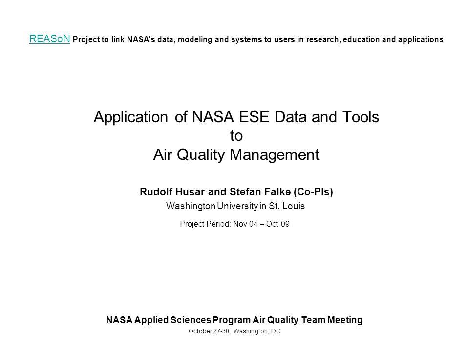 Background/summary material, DataFed, etc.