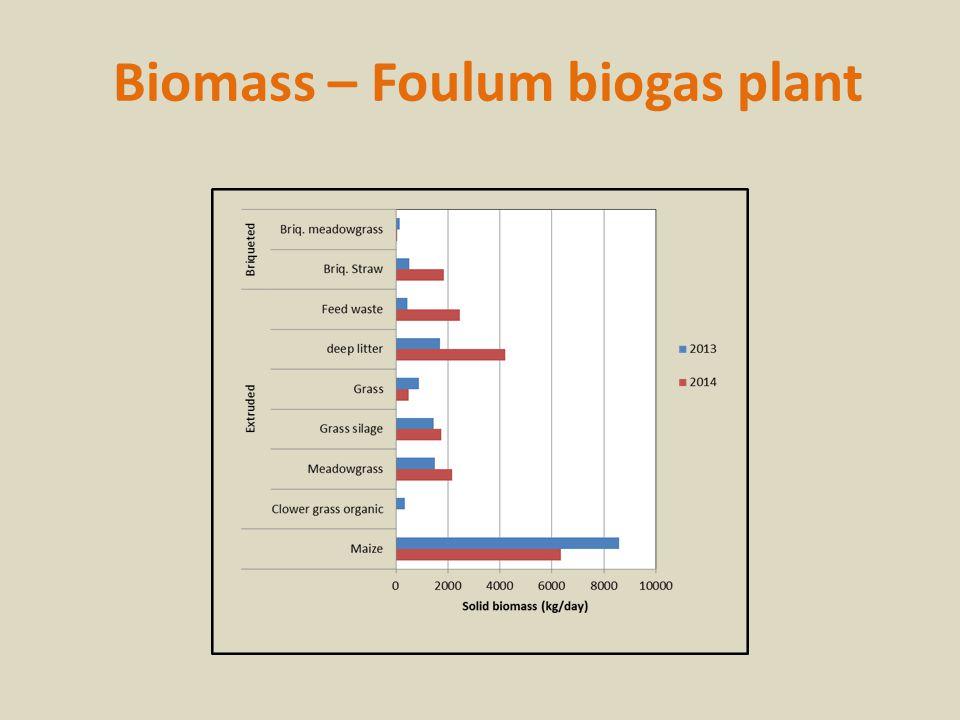 Biomass – Foulum biogas plant