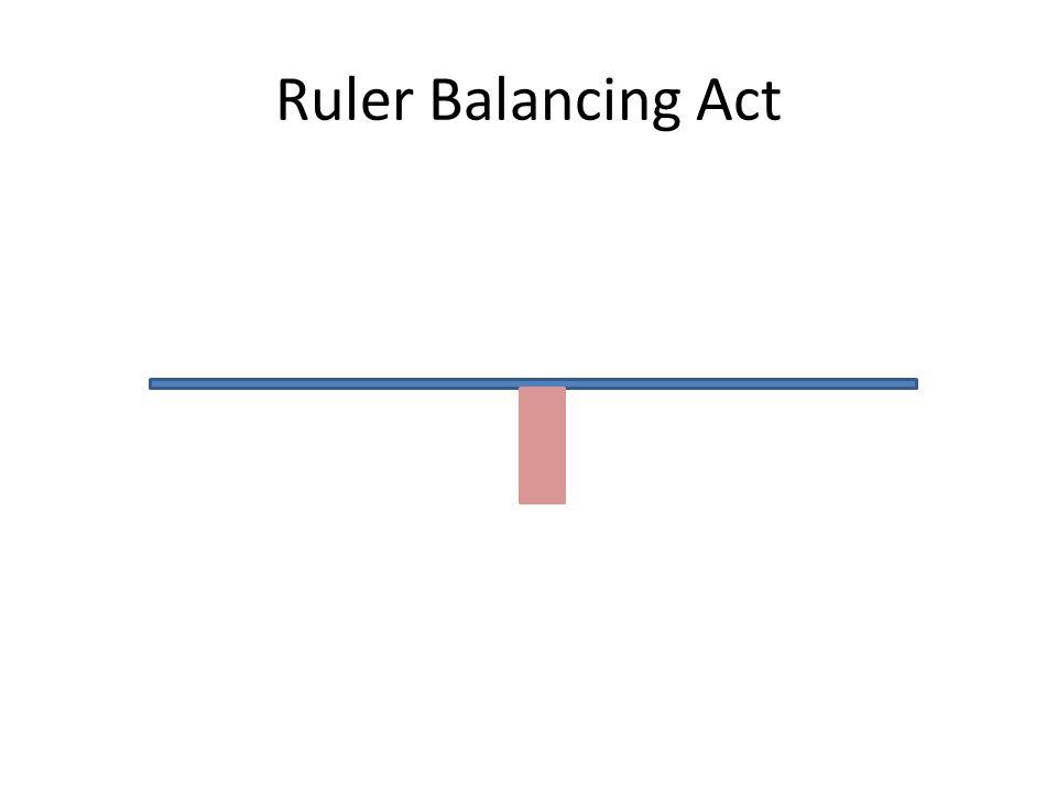 Ruler Balancing Act
