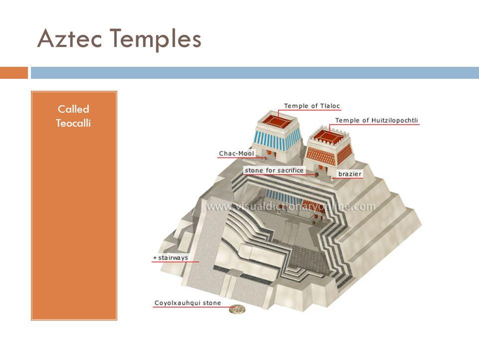 Aztec Temples Called Teocalli