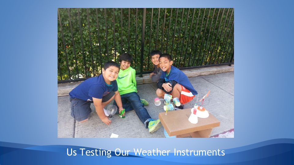 Us Testing Our Weather Instruments