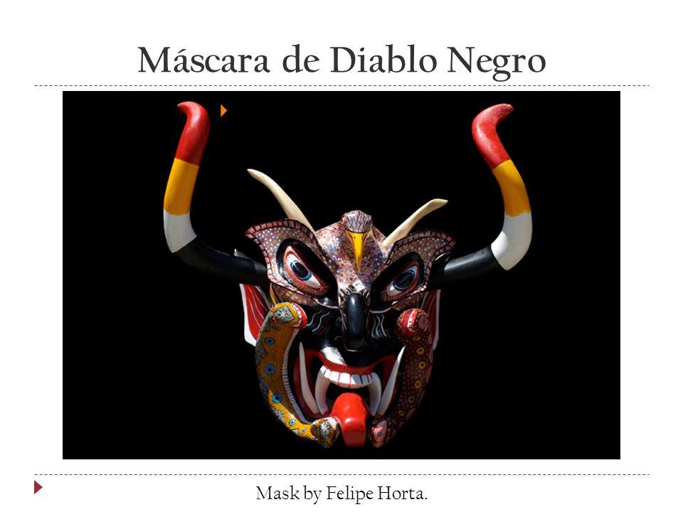 Máscara de Diablo Negro  by Felipe Horta Mask by Felipe Horta.