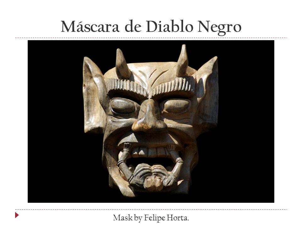 Máscara de Diablo Negro Mask by Felipe Horta.