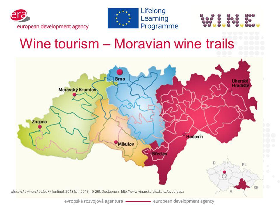 Wine tourism – Moravian wine trails Moravské vinařské stezky [online].