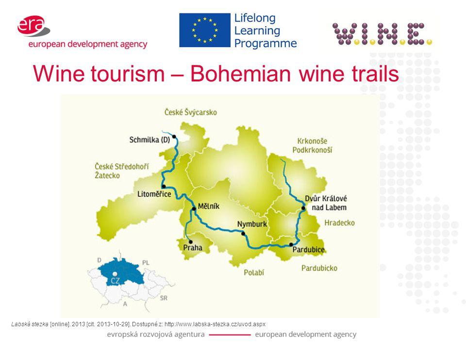 Wine tourism – Bohemian wine trails Labská stezka [online].
