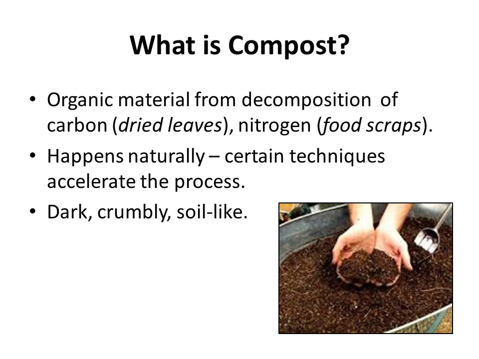 What is Compost.