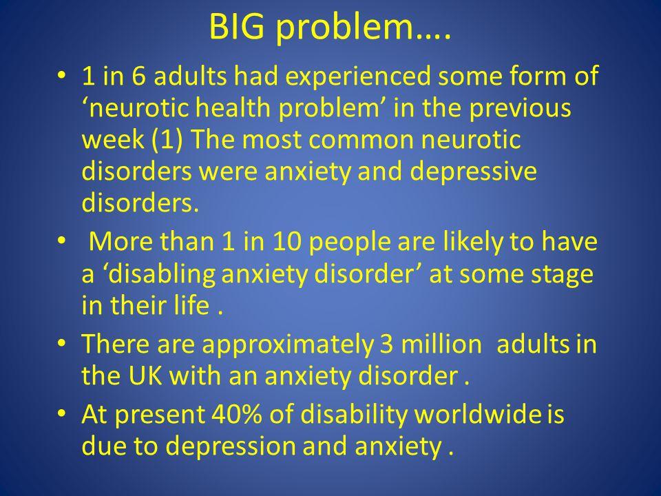 BIG problem….