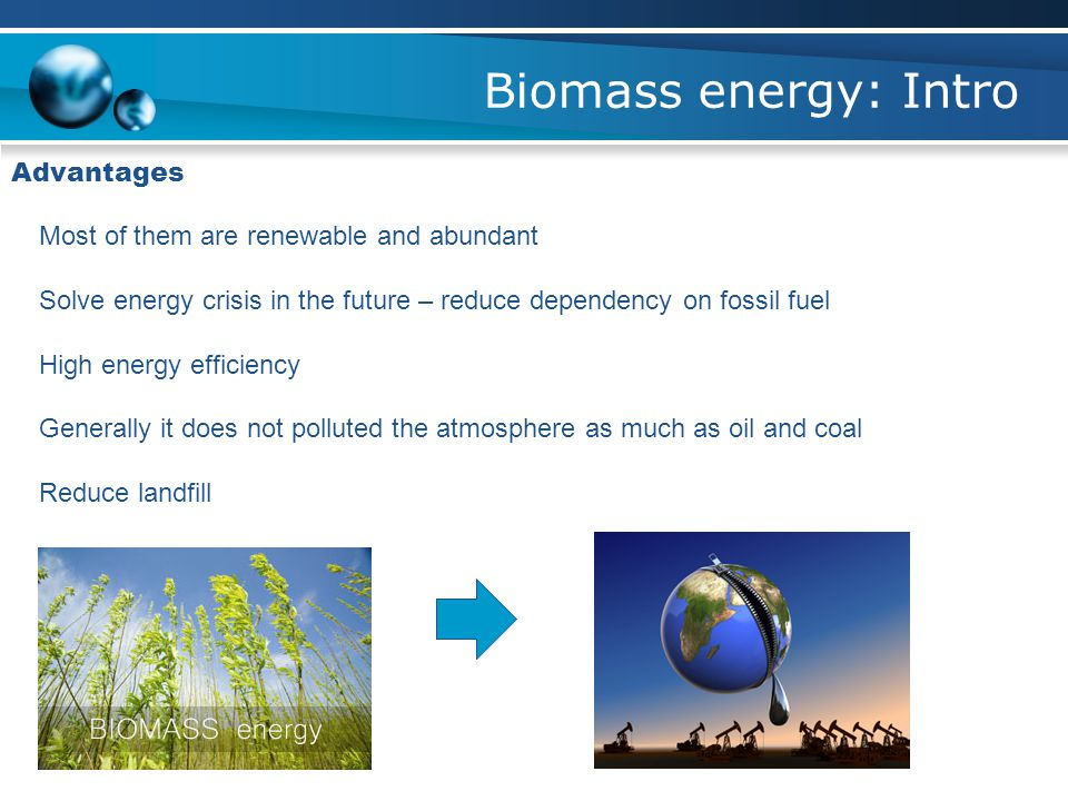 Biomass energy: Intro What is it considered as renewable?.