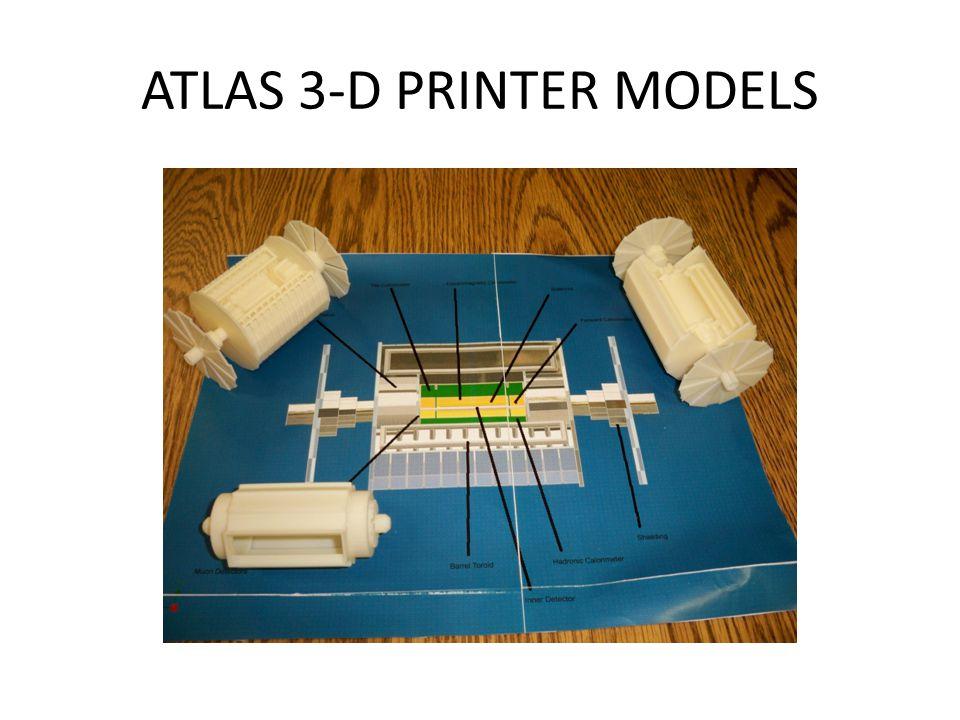 ATLAS 3-D PRINTER MODELS