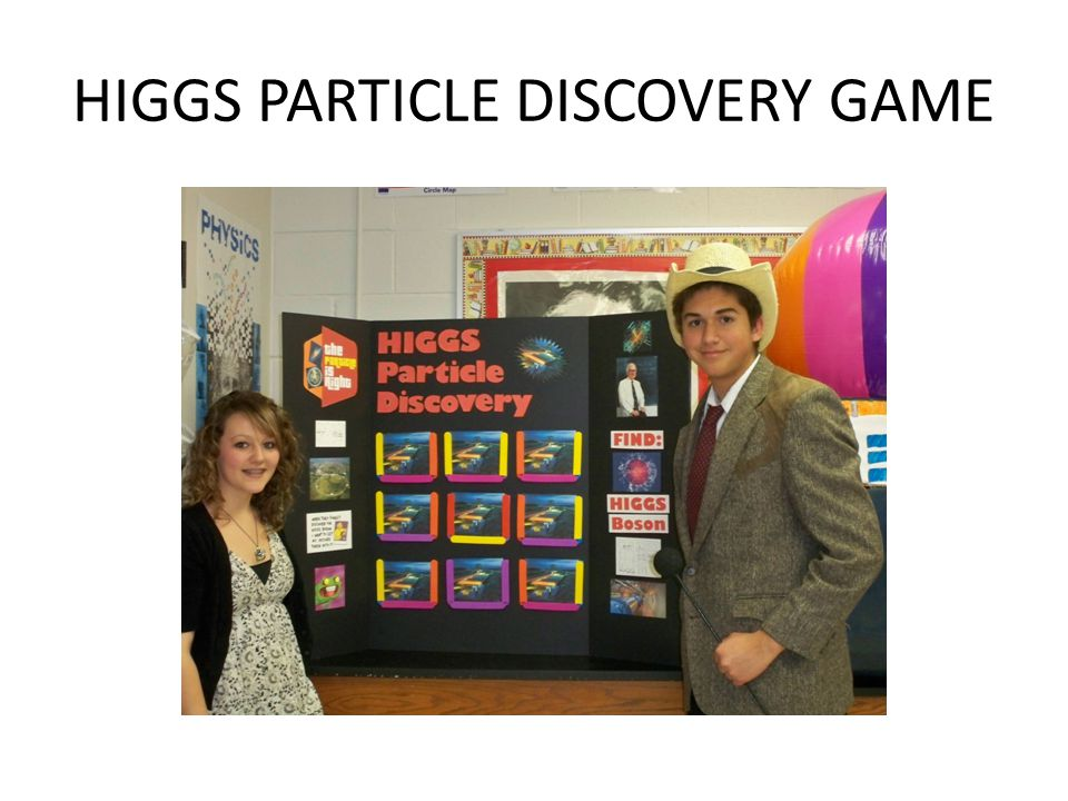 HIGGS PARTICLE DISCOVERY GAME