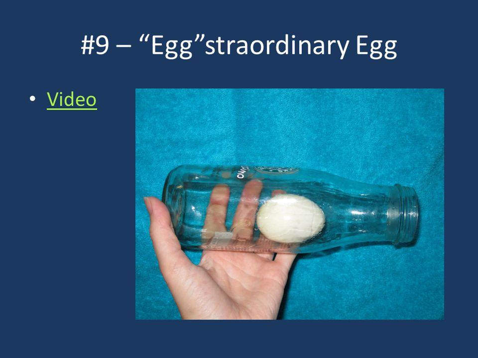#9 – Egg straordinary Egg Video
