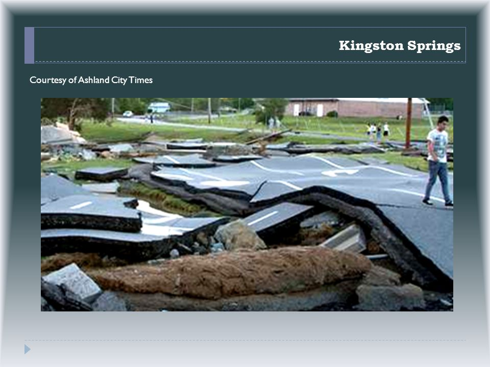 Kingston Springs Courtesy of Ashland City Times