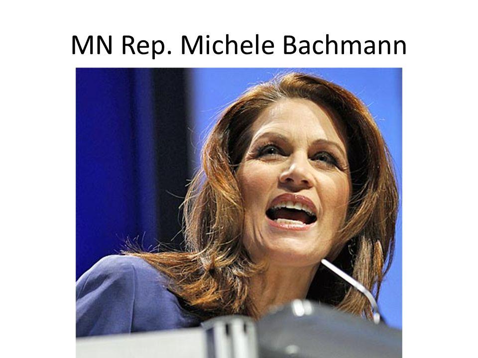 MN Rep. Michele Bachmann