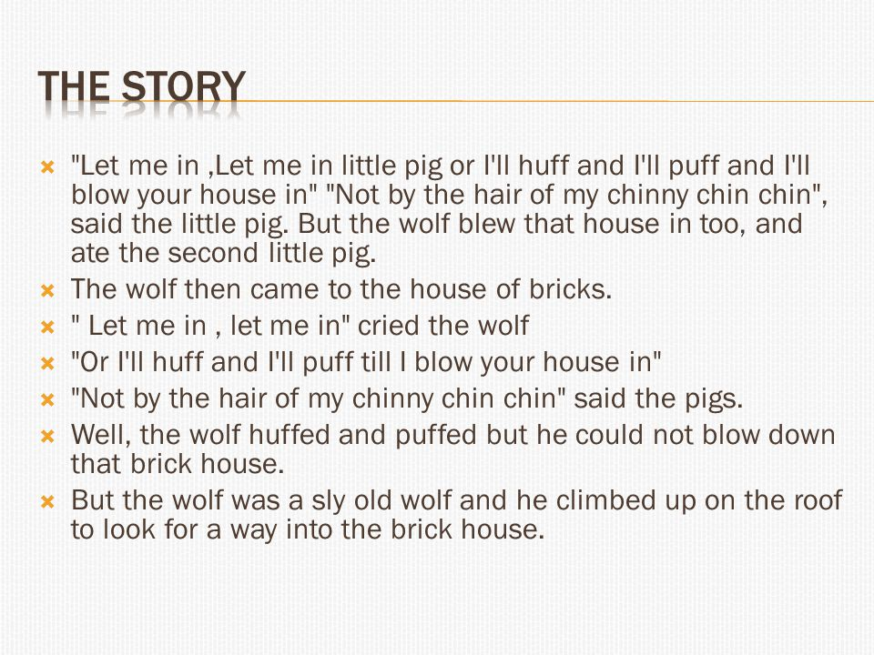  The little pig saw the wolf climb up on the roof and lit a roaring fire in the fireplace and placed on it a large kettle of water.
