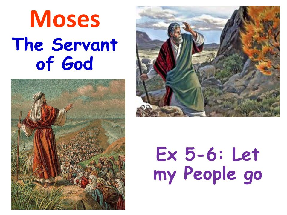 Exodus 5:1-2 1 Afterward Moses and Aaron went in and told Pharaoh, Thus says the Lord God of Israel: Let My people go, that they may hold a feast to Me in the wilderness. 2 And Pharaoh said, Who is the Lord, that I should obey His voice to let Israel go.