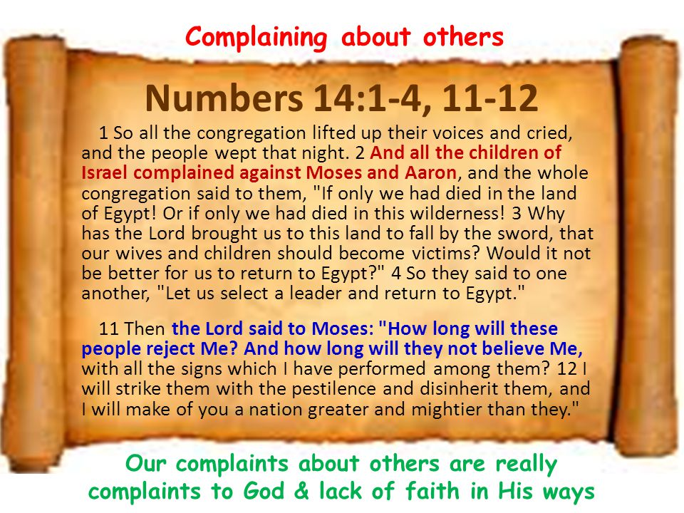 Exodus 5:22-23 22 So Moses returned to the Lord and said, Lord, why have You brought trouble on this people.