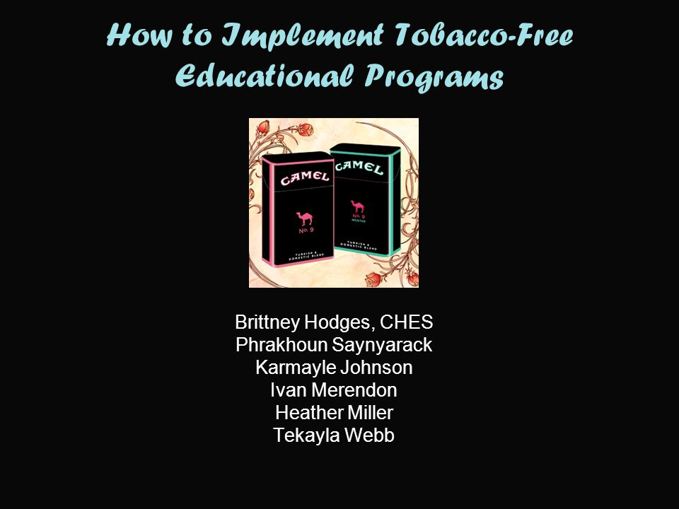 Overview Introductions and welcome Tar Wars pre-test Statistics: Tobacco use in Oklahoma Industry marketing to youth Tar Wars program examples Importance of tobacco-free policies, resolutions, and ordinances Wrap up and questions