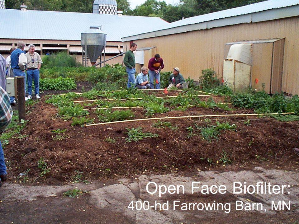 Open Face Biofilter: 400-hd Farrowing Barn, MN