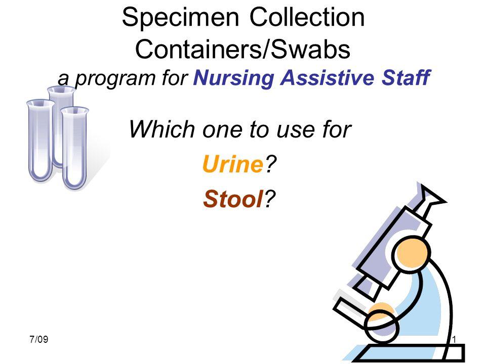 7/0912 For All Other Urine Tests (not Urine C&S, or U/A Chem (Urinalysis)) Used for all other Urine tests:  Lytes  Osmolarities  Protein  Creatinine  Urea Nitrogen  Legionella Antigen  HCG (Pregnancy)  Toxicologies Emergency Stat Routine