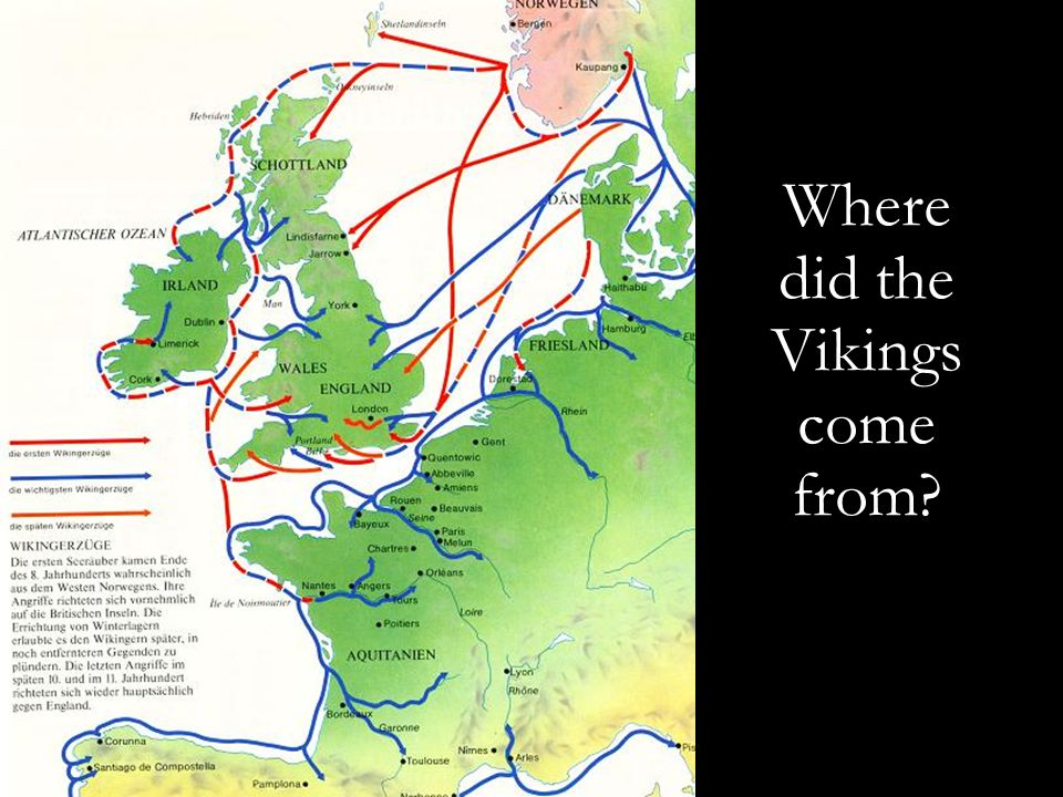 Where did the Vikings come from