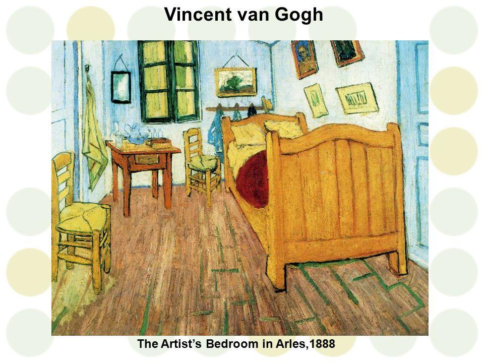 Vincent van Gogh The Artist's Bedroom in Arles,1888