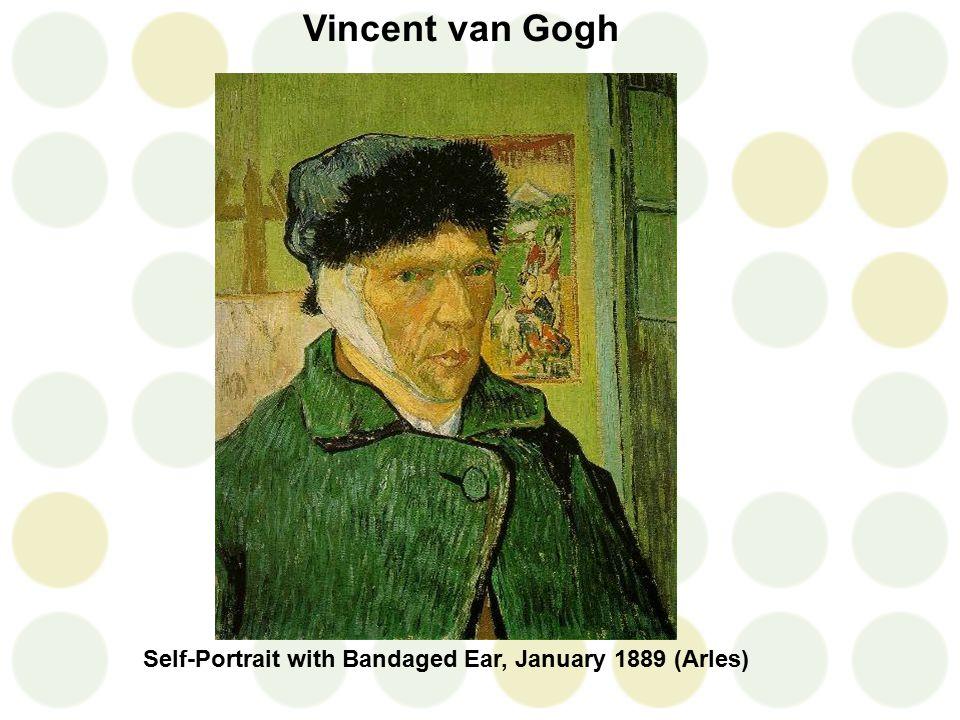 Vincent van Gogh Self-Portrait with Bandaged Ear, January 1889 (Arles)