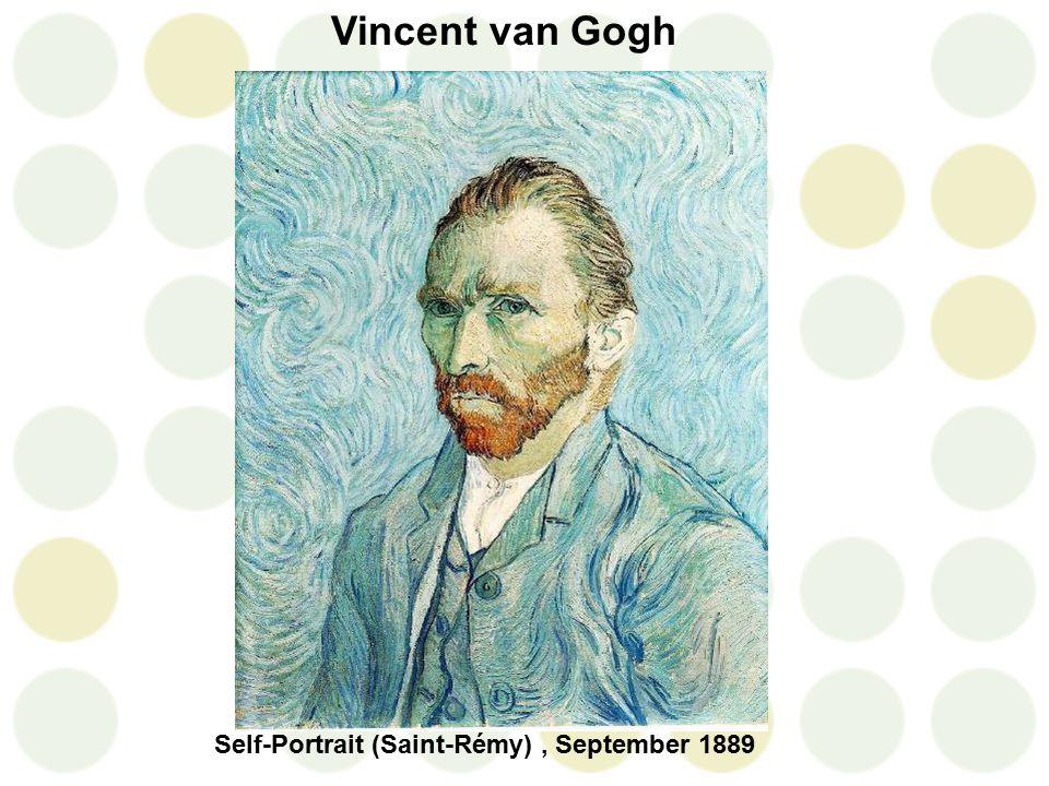Vincent van Gogh Self-Portrait (Saint-Rémy), September 1889