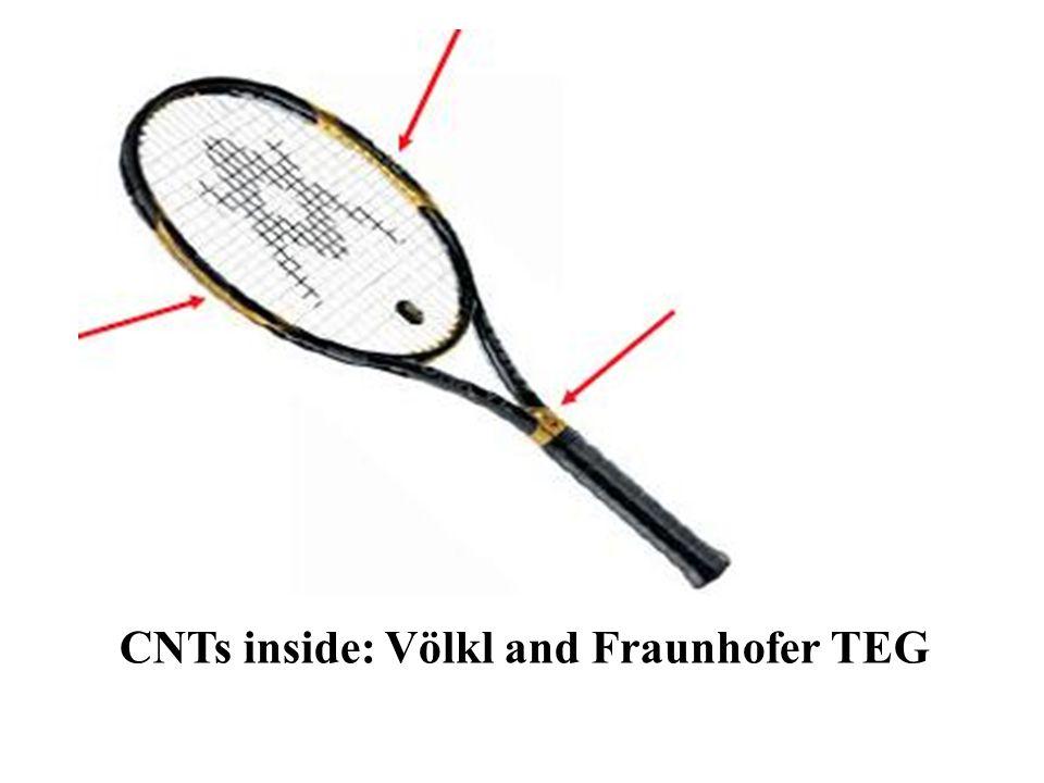CNTs inside: Völkl and Fraunhofer TEG