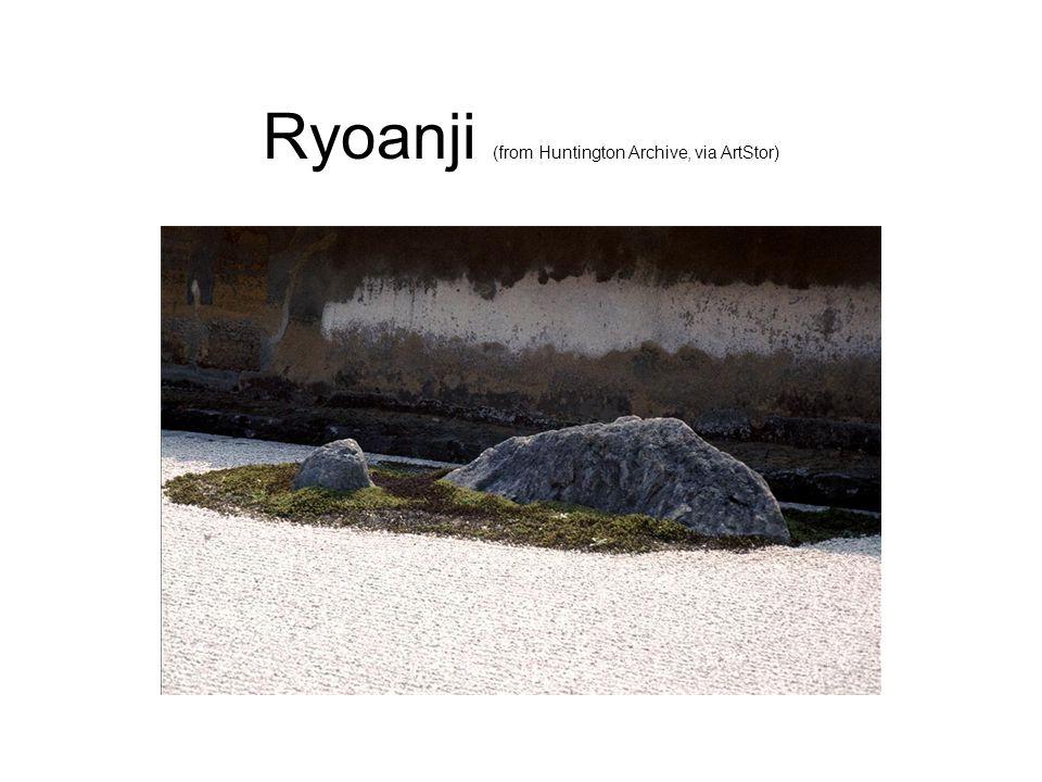 Ryoanji (from Huntington Archive, via ArtStor)