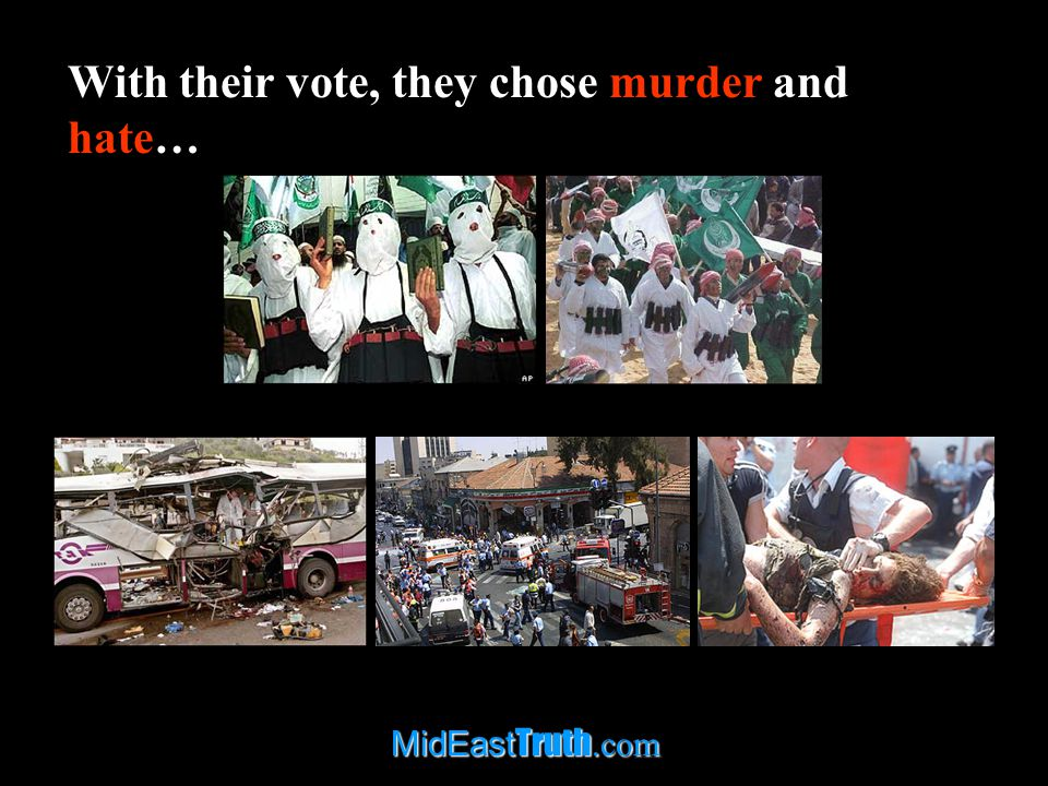 MidEast Truth.com This may be true, but what these analysts fail to mention is that there was another alternative.