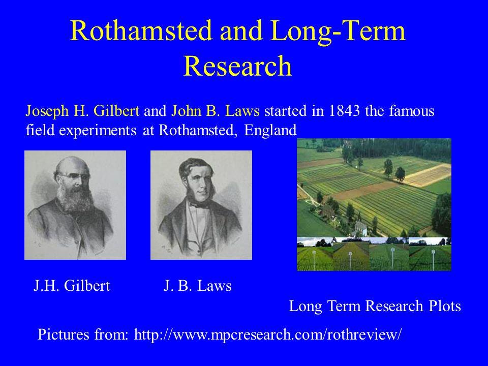 Joseph H. Gilbert and John B.