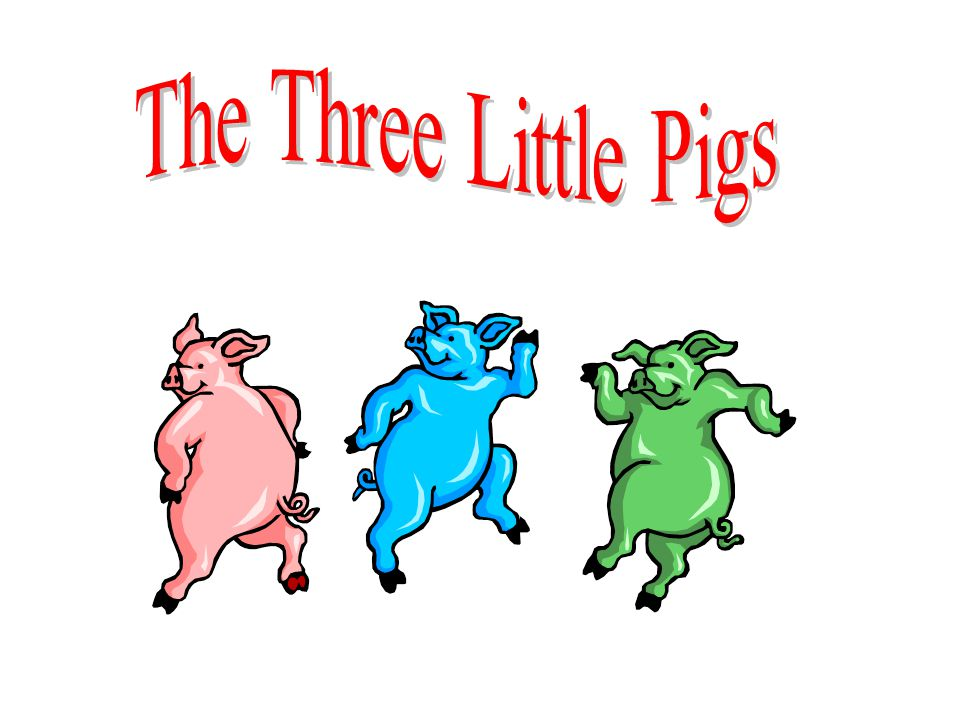 As you know, there is a story about three little pigs and the houses they built.